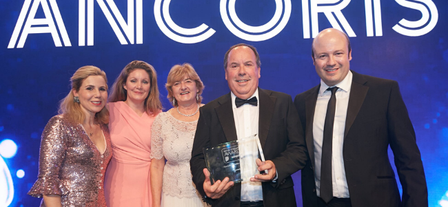 UK IT Awards ceremony
