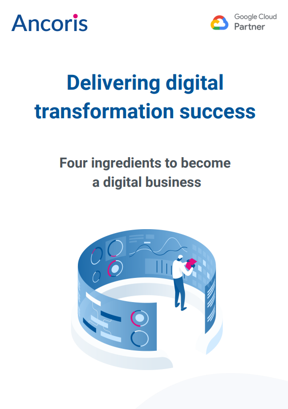 Digital transformation front cover