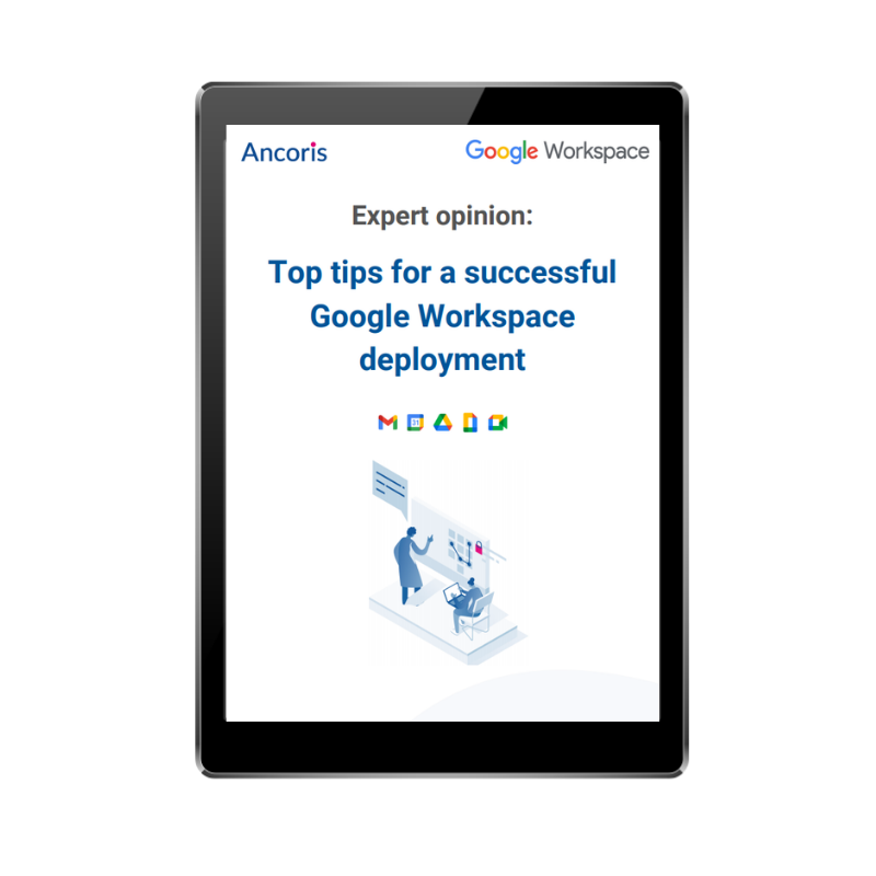 FRONT COVER  - Top tips for Google Workspace Deployments