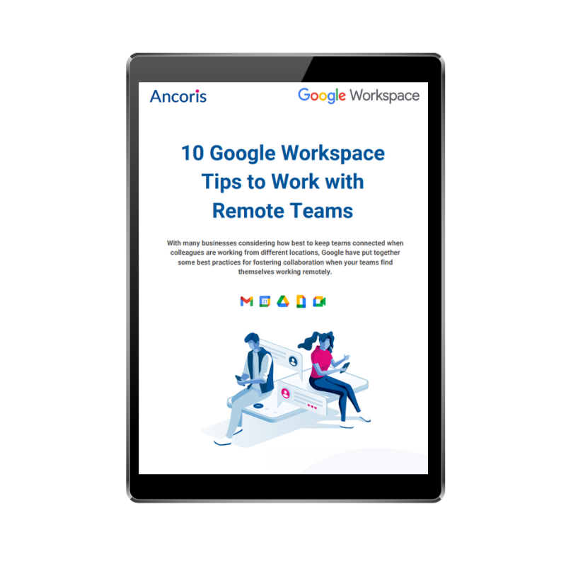 FRONT COVER - 10 Google Workspace Tips to Work with Remote Teams
