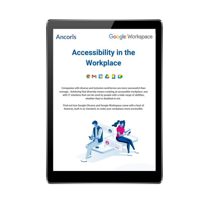 FRONT COVER - Accessibility in the workplace