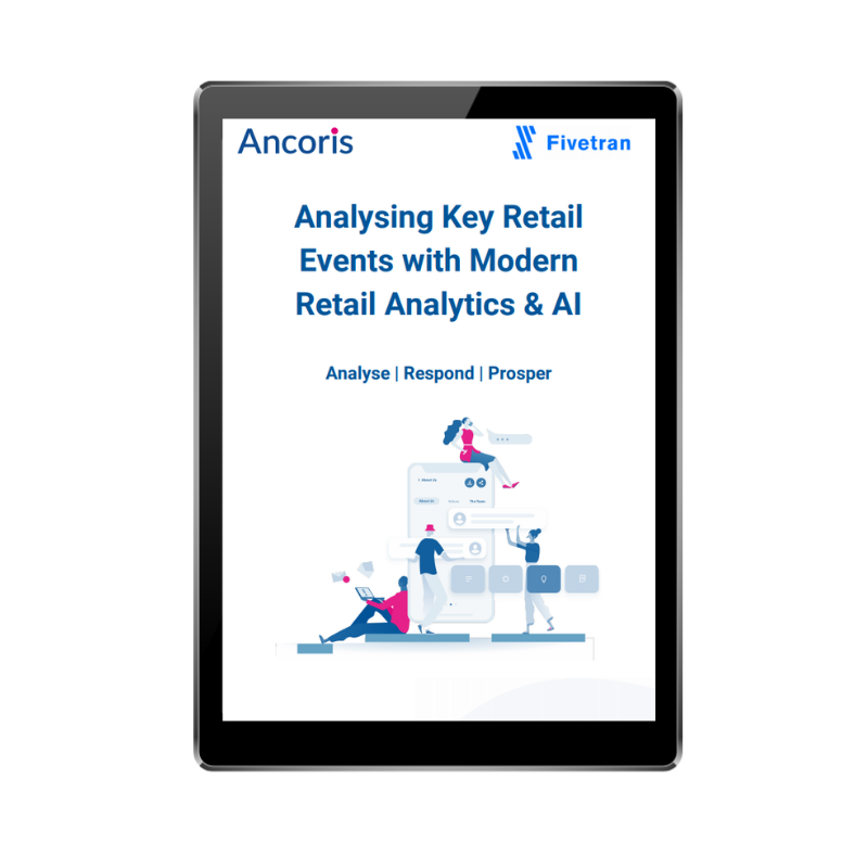 FRONT COVER - Analysing retail key events with modern analytics and AI