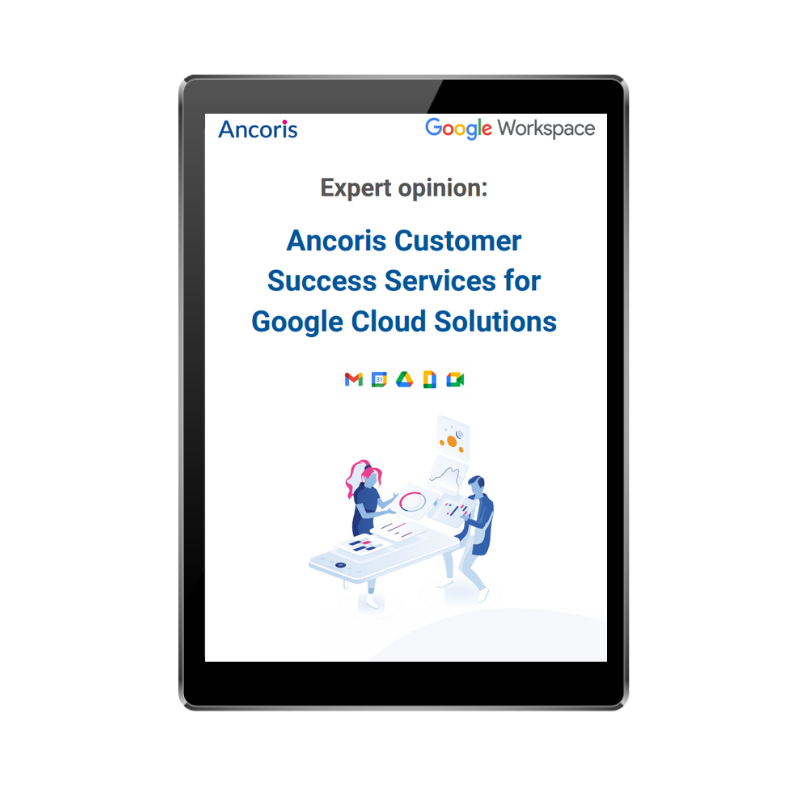 FRONT COVER - Ancoris Customer Success Services