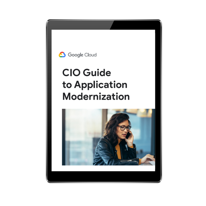 FRONT COVER - CIO guide to app modernisation