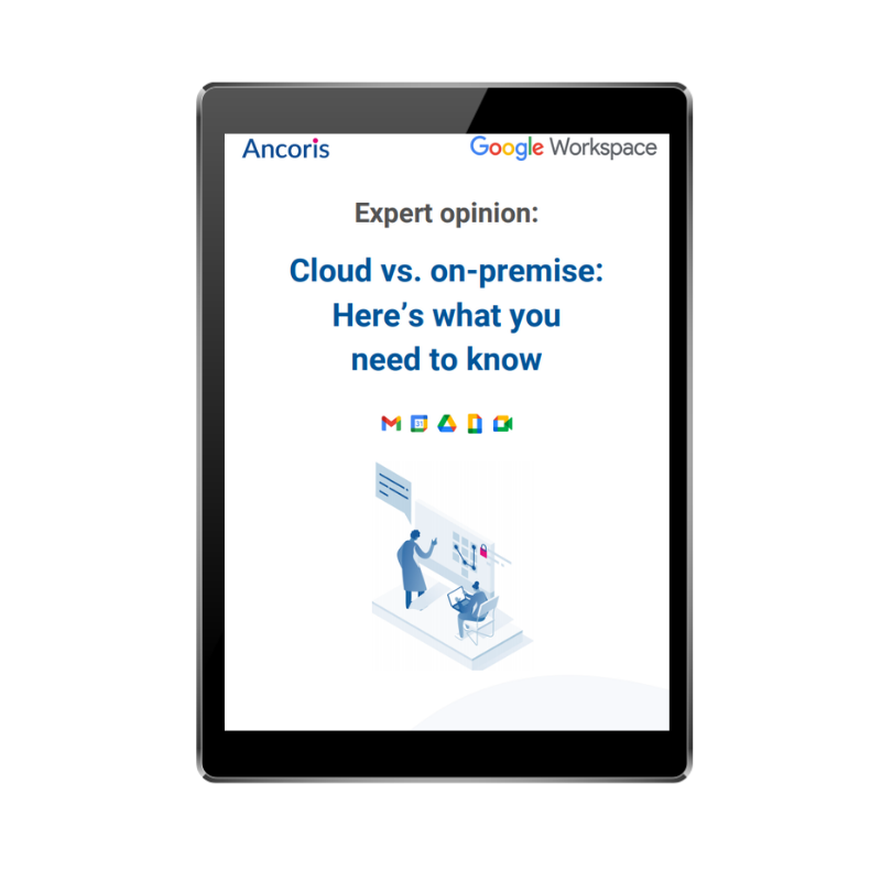 FRONT COVER - Cloud vs On-premise
