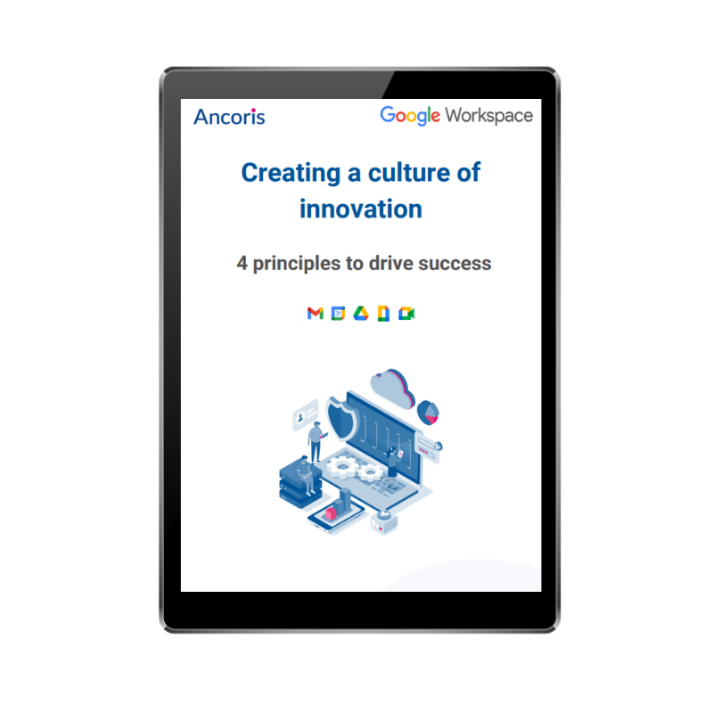 FRONT COVER - Creating a culture of innovation