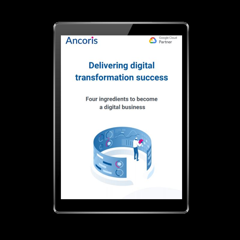 FRONT COVER - Delivering digital transformation success