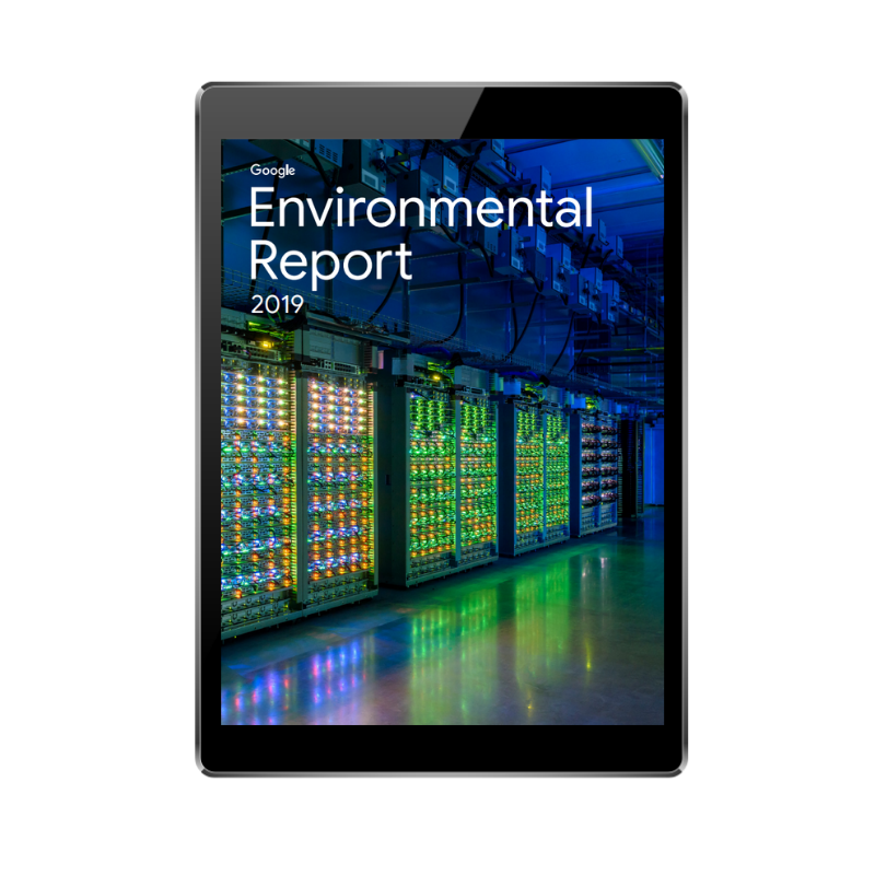 FRONT COVER - Google Environmental Report 2019