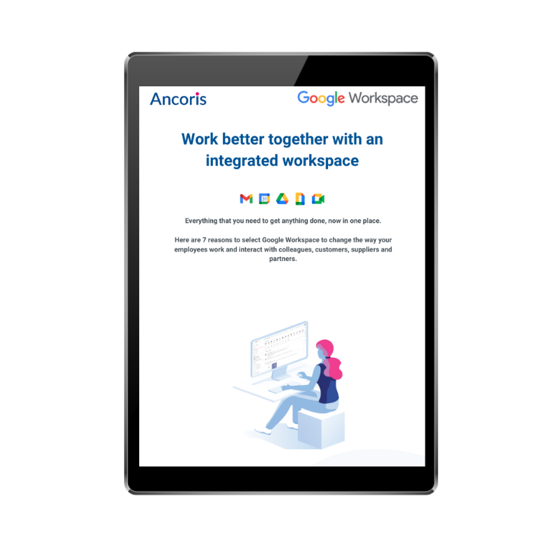 FRONT COVER - Work better together with an integrated workspace