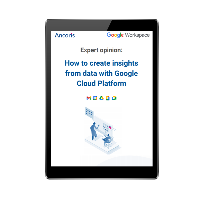 How to create insights from data with Google Cloud Platform GCP