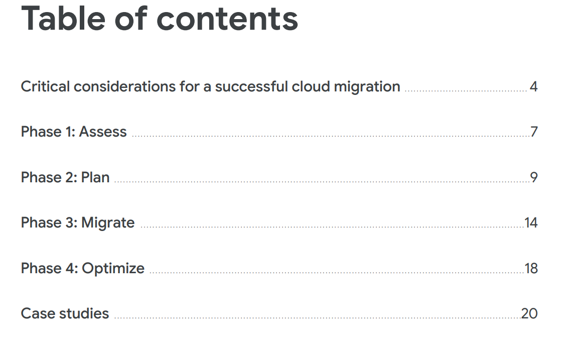 Journey to the cloud stat 1