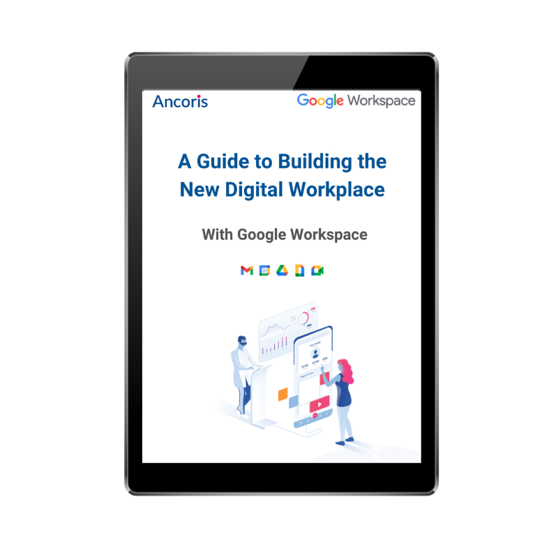 guide to building the new digital workplace front page