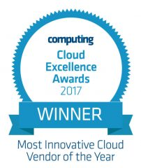 Computing Cloud Excellence Awards 2017 in Blue