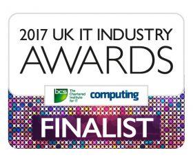 UK IT Industry Awards Finalist