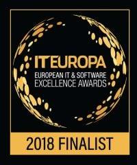IT Europa Awards Finalist 2018