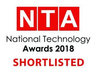 National Tech Awards 2018 Shortlist