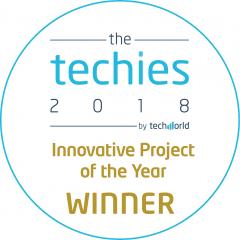 IDG TechWorld techies 2018 Award Winner