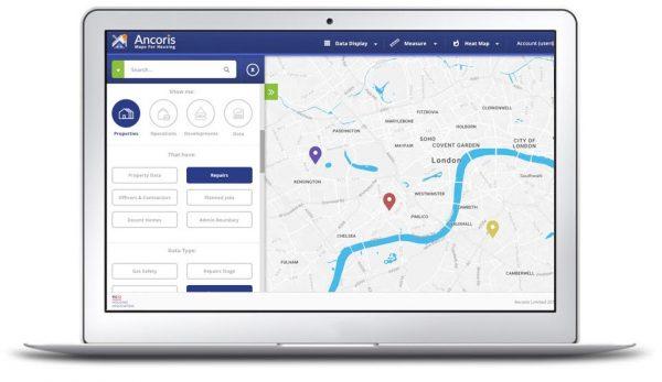 Ancoris Maps for Housing Using Google Maps