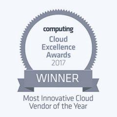 Awards Cloud Excellence Winner