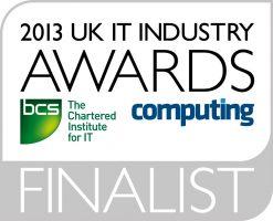 2013 UK IT Industry Award Finalist