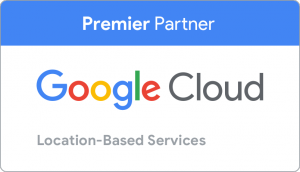 Google Cloud location-based services badge