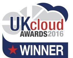 UK Cloud Award 2016 Winner