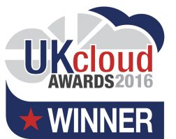 UK Cloud Award 2016 Winner