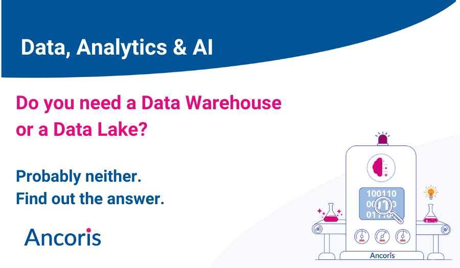 Data warehouse or data lake?