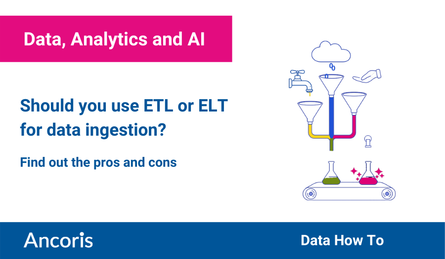 ETL or ELT for data ingestion