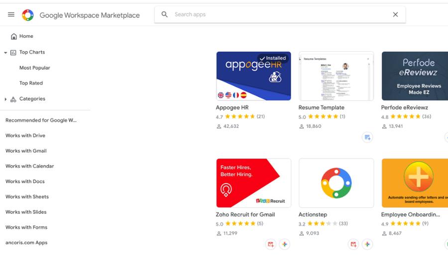 Google Workspace Marketplace