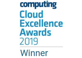 Award logo - Most innovative cloud vendor of the year