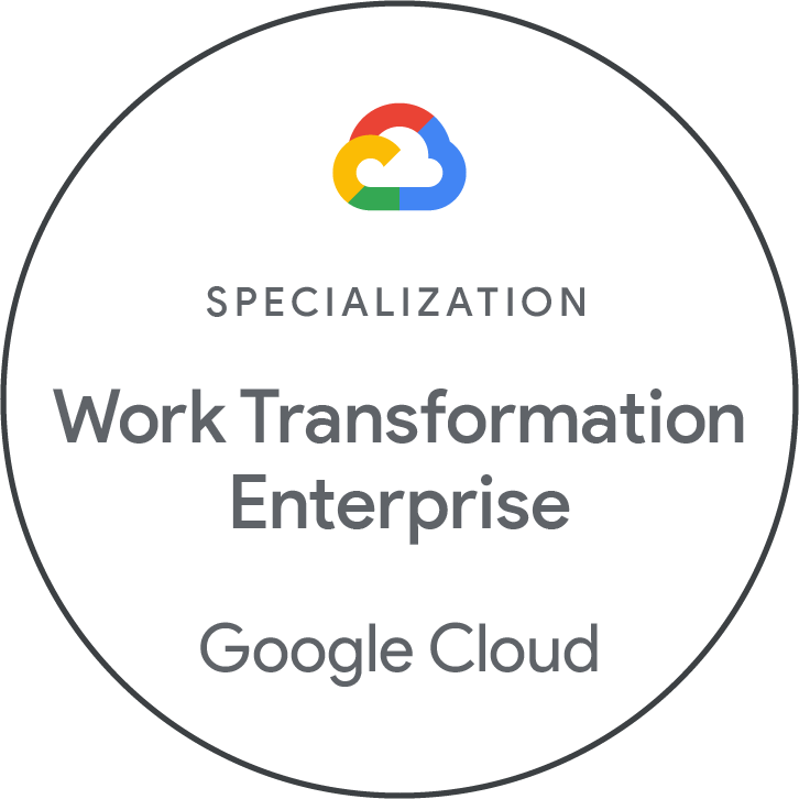 Work Transformation Enterprise Google Cloud and Ancoris