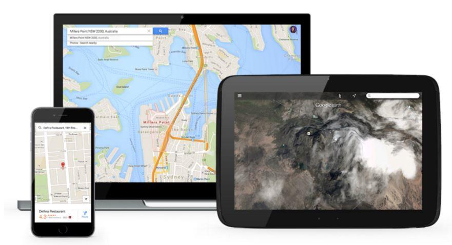 Google Maps data visualisation
