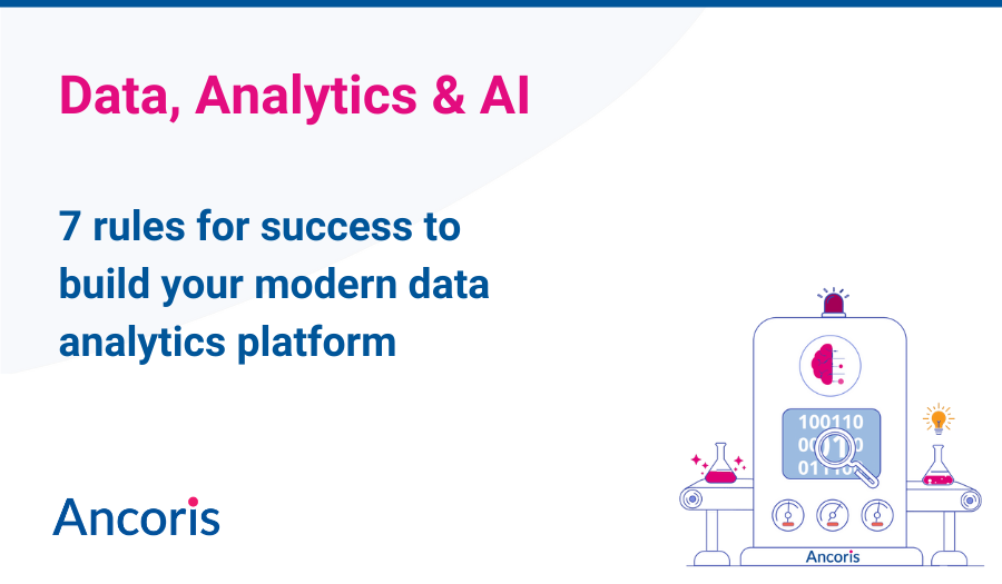 Social tile for 7 rules to success for data analytics platform