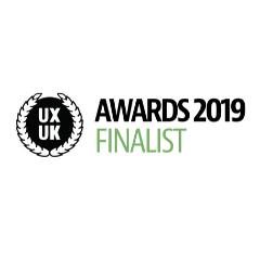 UKUX Awards 2019 Finalist
